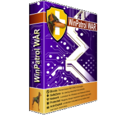 WinPatrol WAR (formerly WinAntiRansom), Five PC license, Annual Renewal - Electronic Delivery Coupons