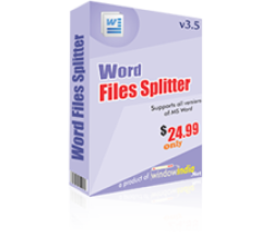 Word Files Splitter Coupons