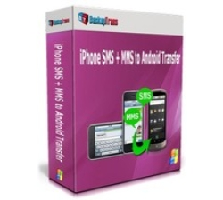Backuptrans iPhone SMS + MMS to Android Transfer (Family Edition) Coupons