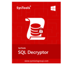 SysTools SQL Decryptor Coupons