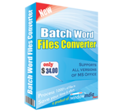Batch Word Files Converter Coupons
