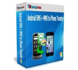 Backuptrans Android SMS + MMS to iPhone Transfer (Family Edition) Coupons