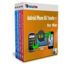 Backuptrans Android iPhone Kik Transfer + for Mac (Family Edition) Coupons