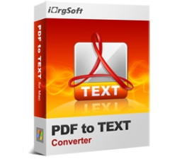 iOrgsoft PDF to Text Converter Coupons