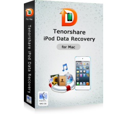Tenorshare iPod Touch 4 Data Recovery for Mac Coupons