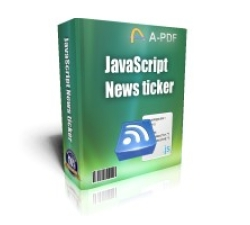 JavaScript News Ticker Coupons