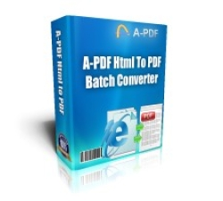 A-PDF HTML to PDF Coupons