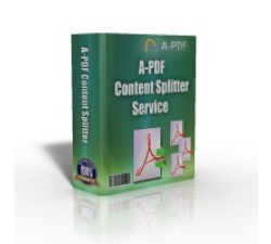 A-PDF Content Splitter Service Coupons