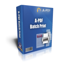 A-PDF Batch Print Coupons