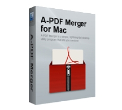A-PDF Merger for Mac Coupons