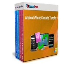 Backuptrans Android iPhone Contacts Transfer + (Family Edition) Coupons