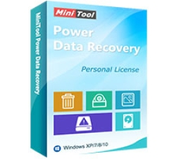 MiniTool Power Data Recovery - Personal Deluxe Coupons