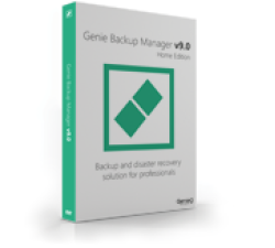 Genie Backup Manager Home 9 - 5 Pack Coupons