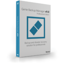 Genie Backup Manager Professional 9 - 3 Pack Coupons